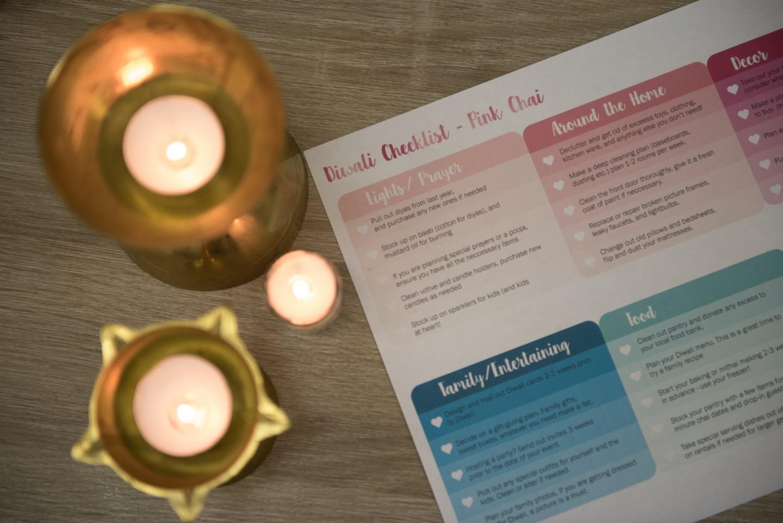Diwali Checklist {Printable}