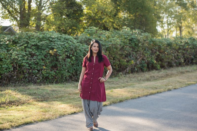 Fall Favourite: Dress + Salwar