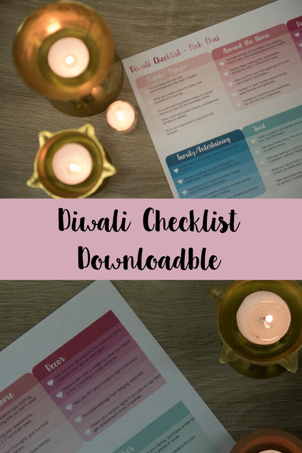 diwali checklist download pink chai