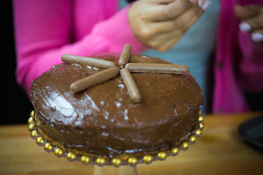 Lohri Bonfire Cake