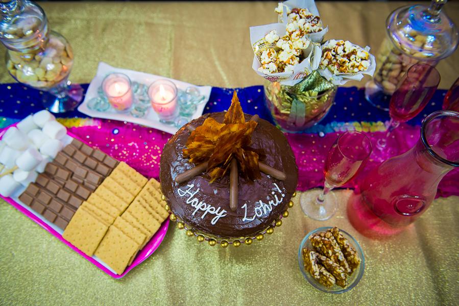 How to Make a Lohri Bonfire Cake: Pink Chai Living Blog