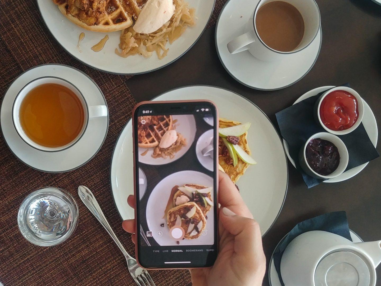 cowichan restaurants, pink chai living