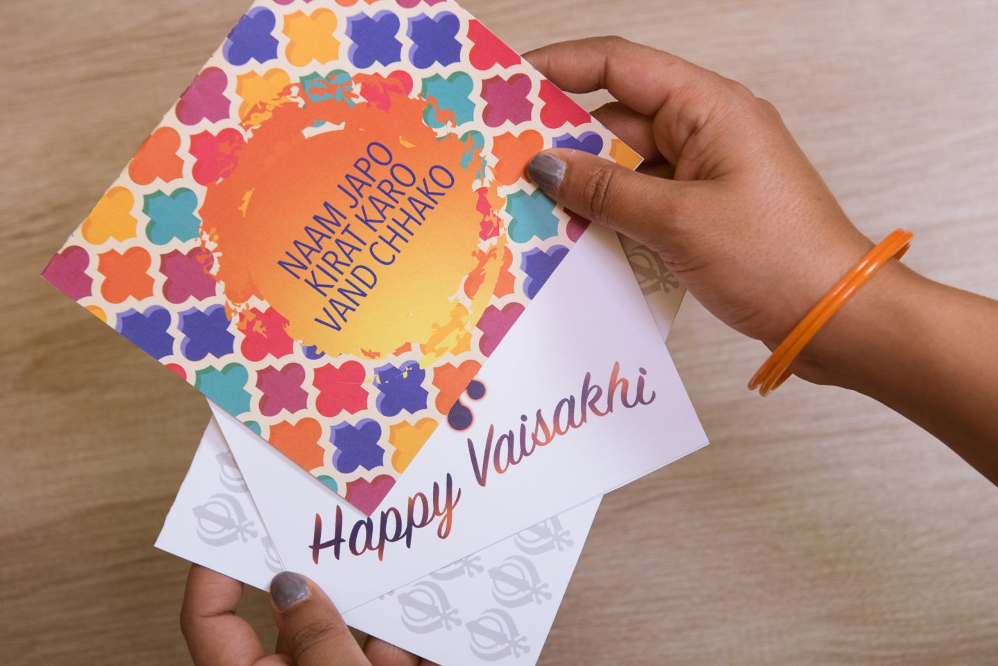 Vaisakhi Cards Activities | Pink Chai LIving