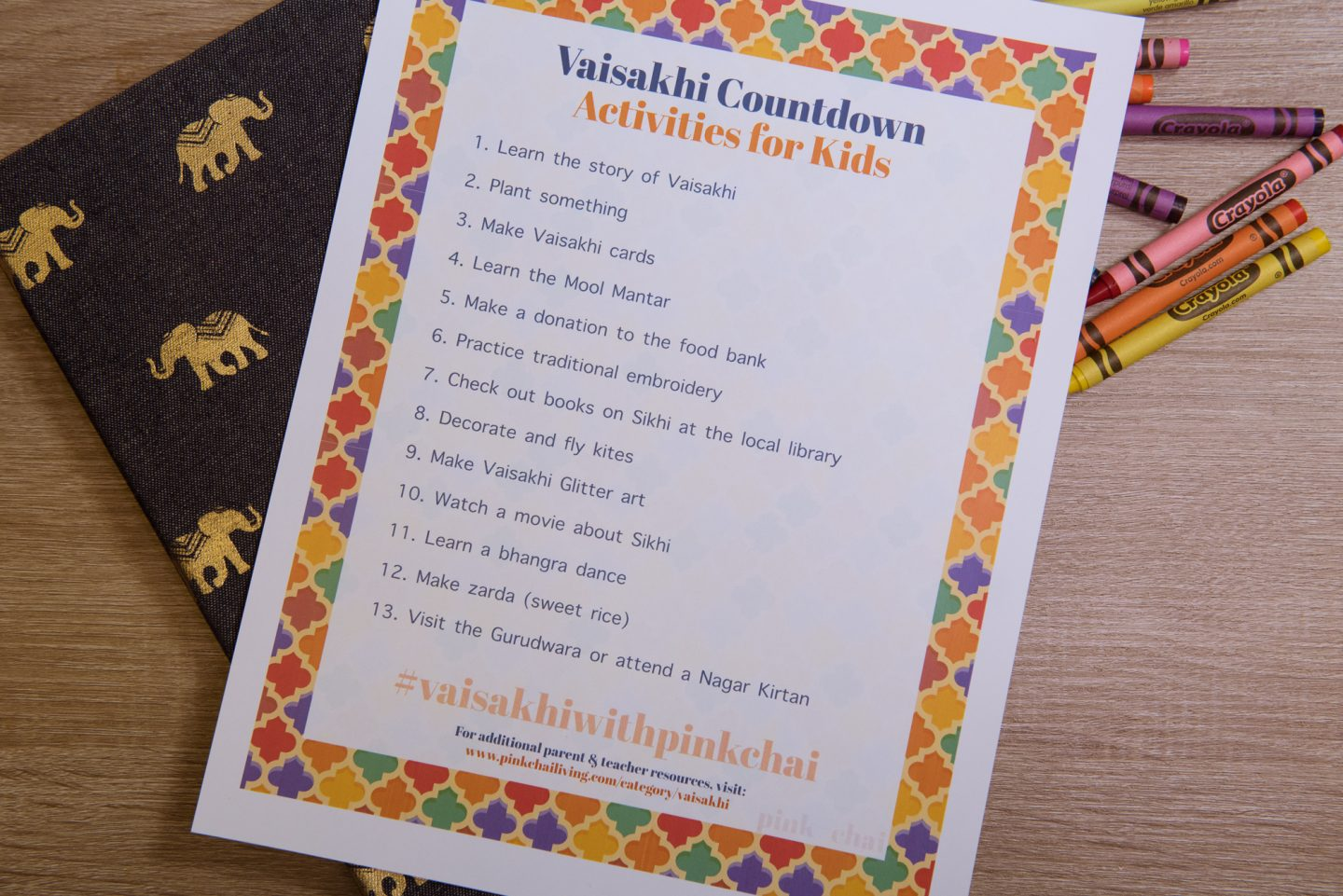 Vaisakhi Activities for Kids | Pink Chai Living