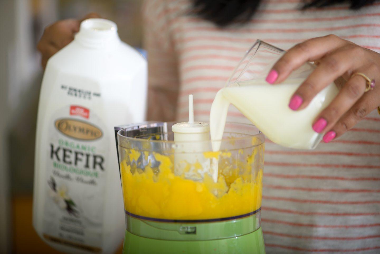 kefir mango lassi