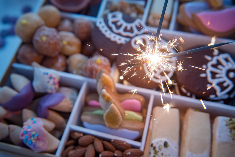 diwali cookie box