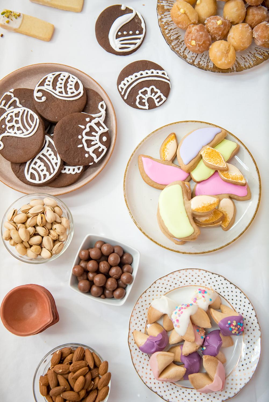 diwali cookie box , diwali gift box