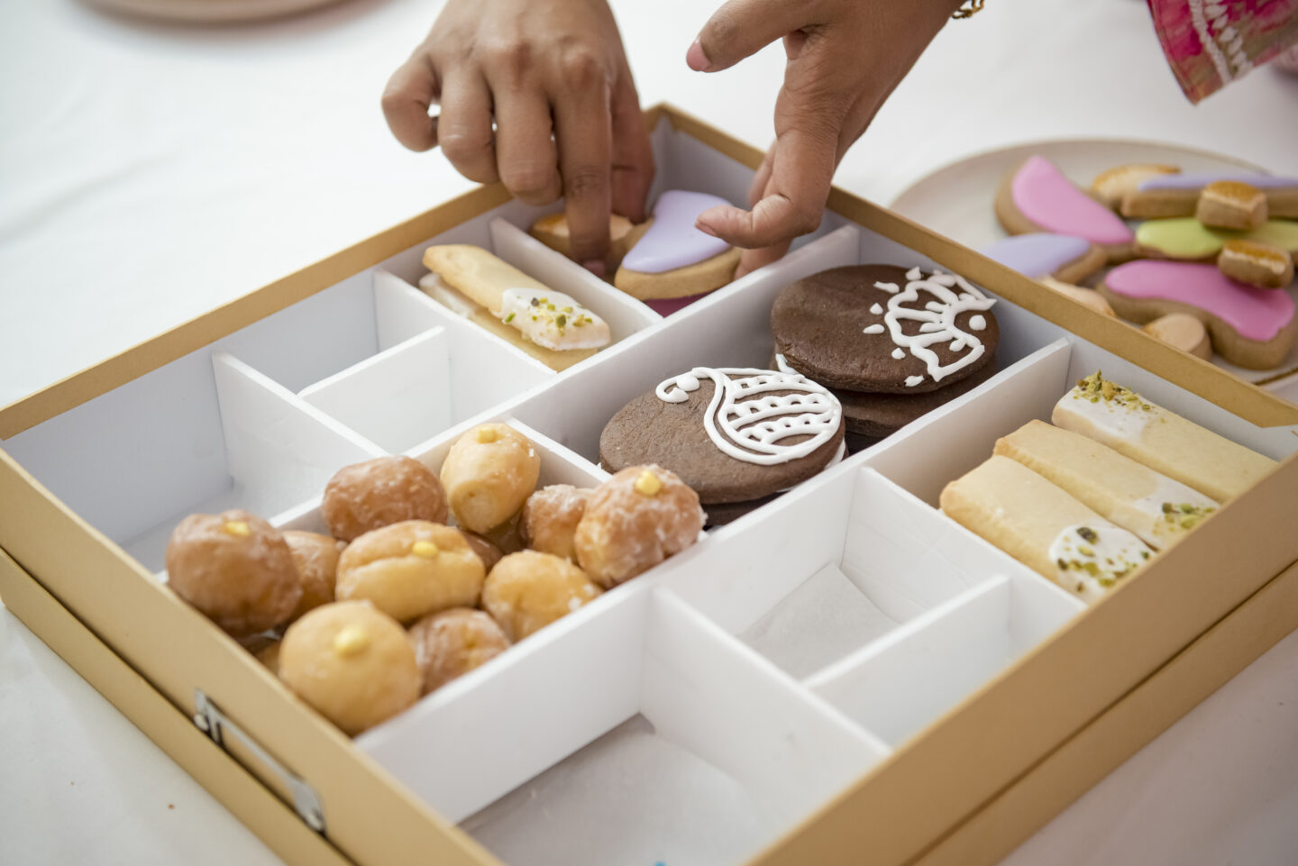 diwali cookie box