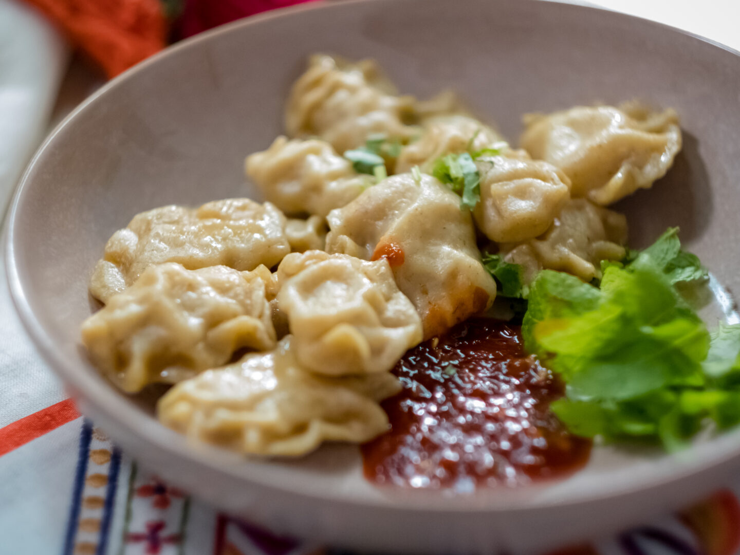 turkey momo recipe