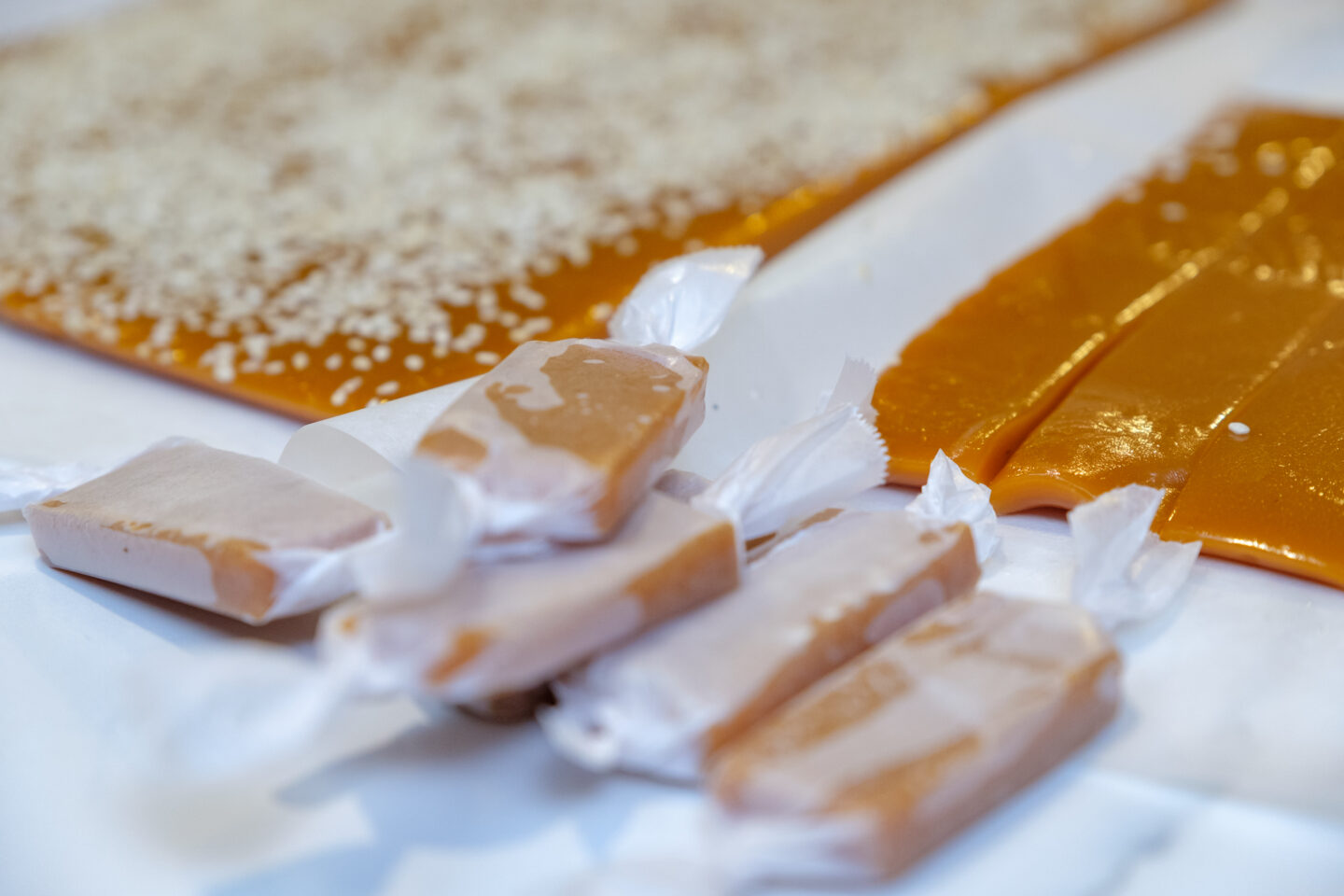 jaggery caramels, gur candy