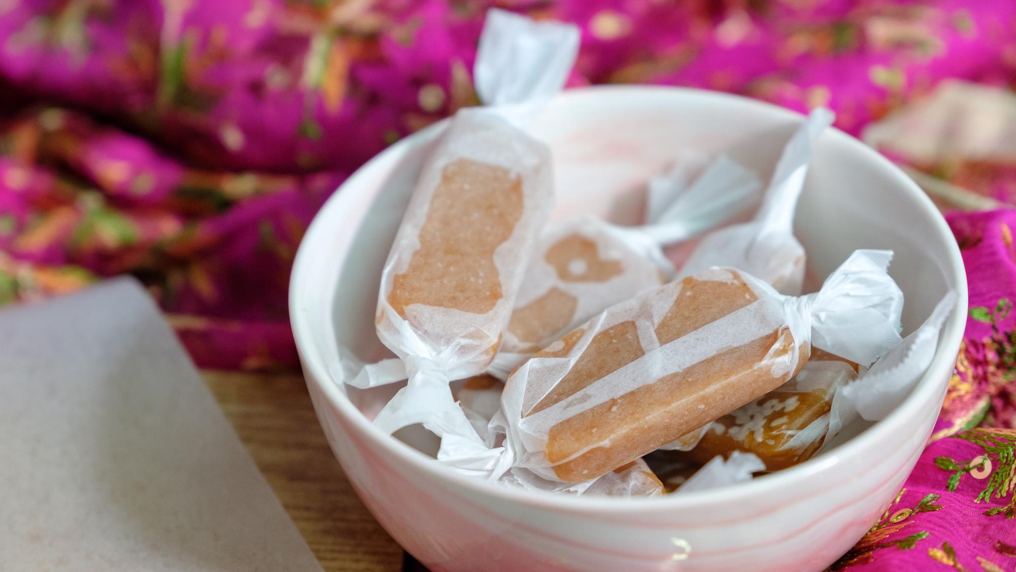 Jaggery Caramels, Gur Candy