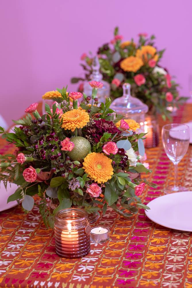 lohri table decorations
