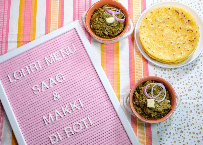 punjabi saag recipe, sarson ka saag