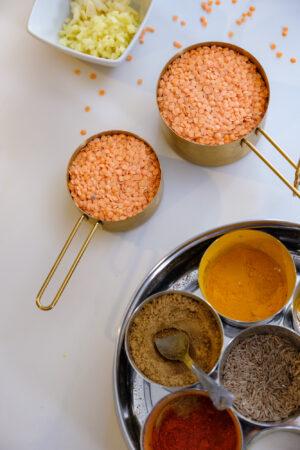 red lentils, masar, masoor dal