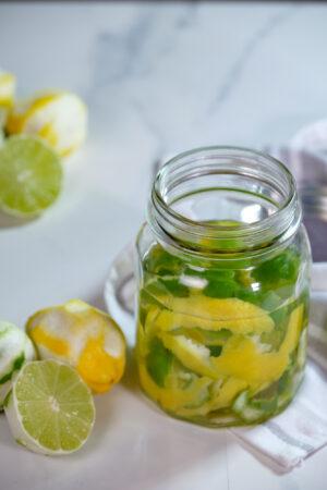 homemade lemon cleaner